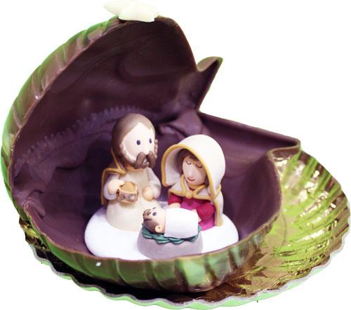 presepe-conchiglia-cioccolato