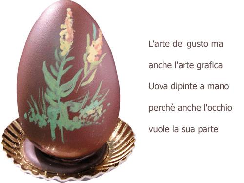 uovo dipinto