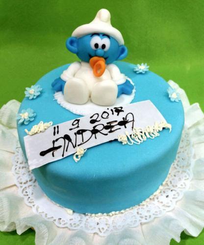 torta-battesimo-puffo