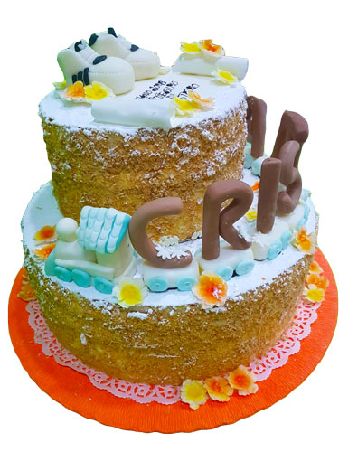 torta-battesimo-trenino