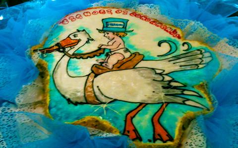 torte-battesimo-6 Cicogna-2