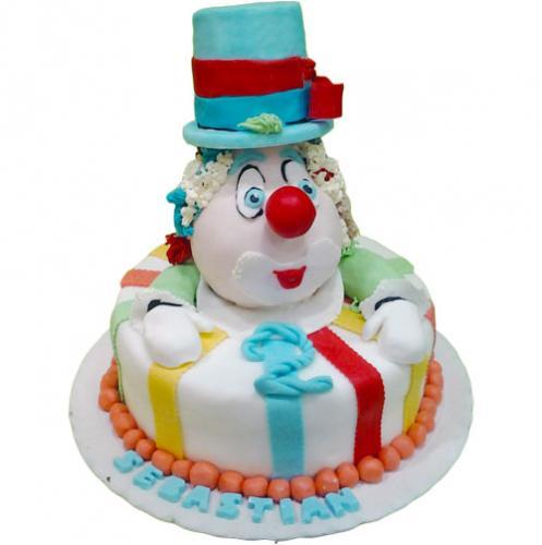 Torta-clown