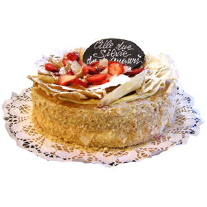 torta millefoglie-fragoline