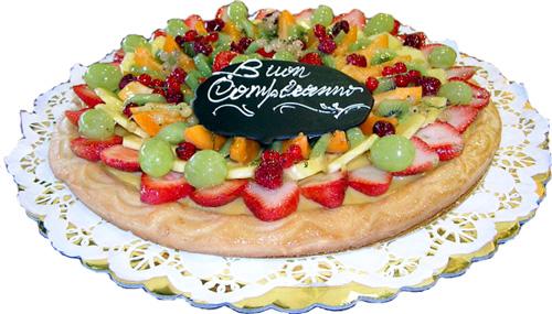 torta frutta